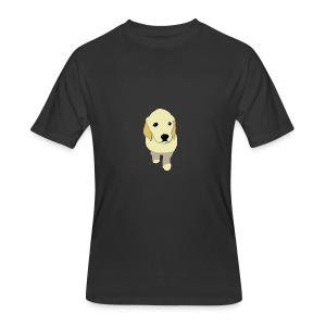 Golden Retriever puppy - Men's 50/50 T-Shirt