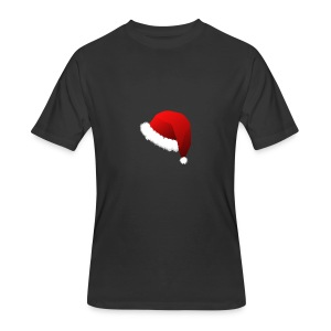 Carmaa Santa Hat Christmas Apparel - Men's 50/50 T-Shirt