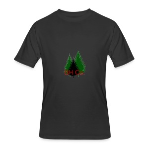 EVERGREEN LOGO - Men's 50/50 T-Shirt