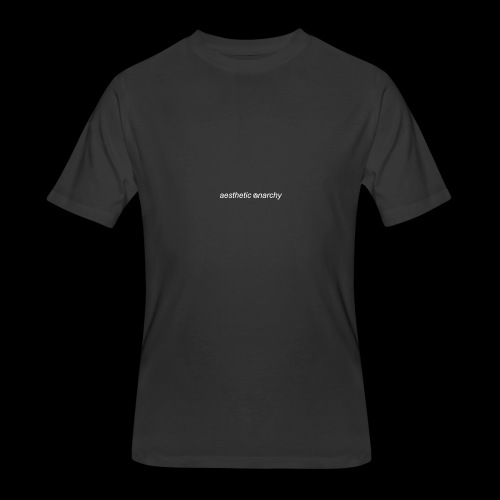 'Black' Aesthetic Anarchy - Men's 50/50 T-Shirt