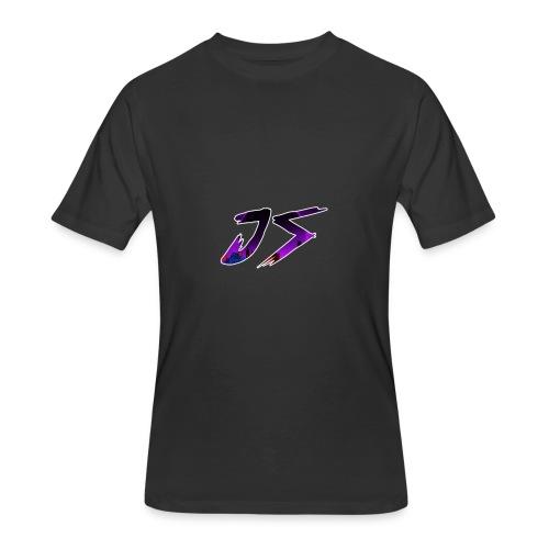 JS LOGO - Men's 50/50 T-Shirt