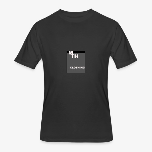 mth clothing co best in black - Men's 50/50 T-Shirt
