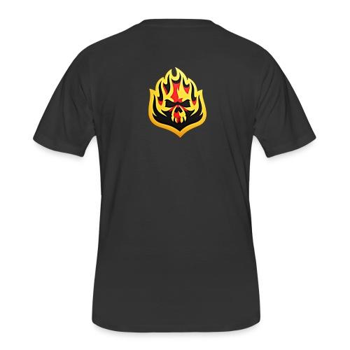 ListenTunes Fire Skull - Men's 50/50 T-Shirt