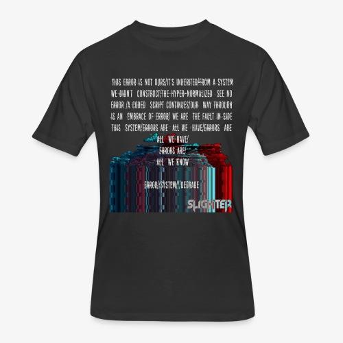 ERROR Lyrics - Men's 50/50 T-Shirt