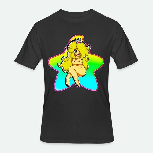 THICC ROSA - Men's 50/50 T-Shirt