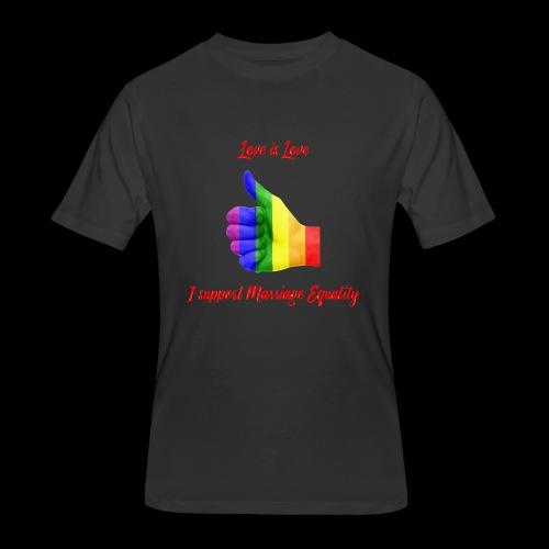 Love is Love - Men's 50/50 T-Shirt