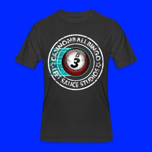 Vintage Cannonball Bingo 8-Bit Ball Tee - Men's 50/50 T-Shirt