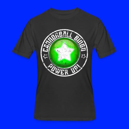 Vintage Power-Up Tee - Men's 50/50 T-Shirt