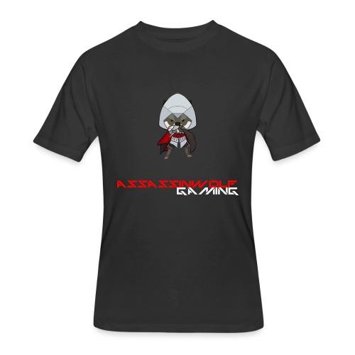 heather gray assassinwolf Tee - Men's 50/50 T-Shirt