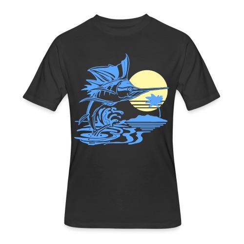 Sailfish - Men's 50/50 T-Shirt