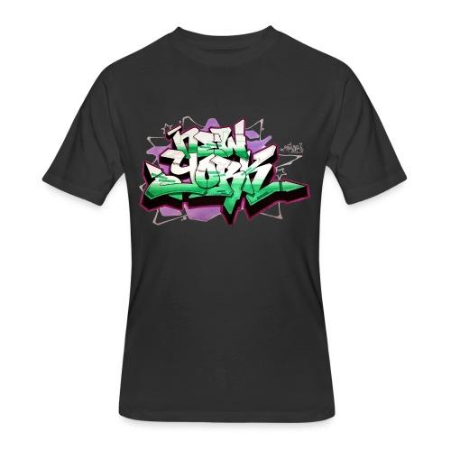 RANGE - Design for New York Graffiti Color Logo - Men's 50/50 T-Shirt