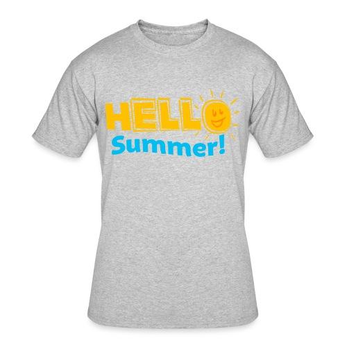 Kreative In Kinder Hello Summer! - Men's 50/50 T-Shirt