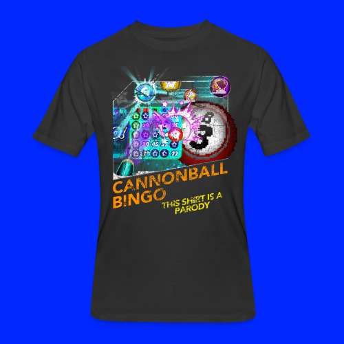 Vintage Cannonball Bingo Box Art Tee - Men's 50/50 T-Shirt