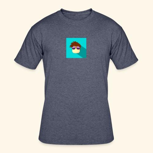 NixVidz Youtube logo - Men's 50/50 T-Shirt
