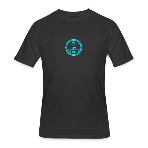 AB KEPP IT LIT 50 SUBS MERCH - Men's 50/50 T-Shirt