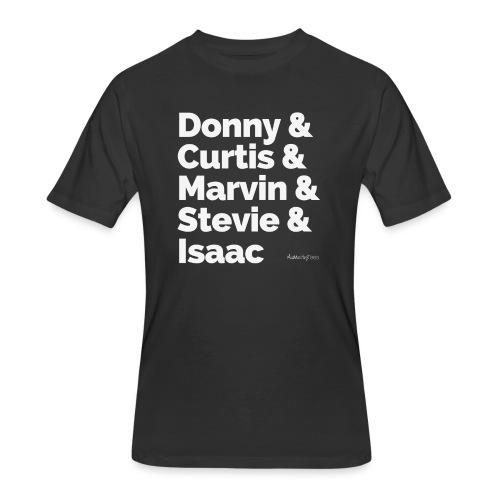 Donny Curtis Marvin Stevi - Men's 50/50 T-Shirt