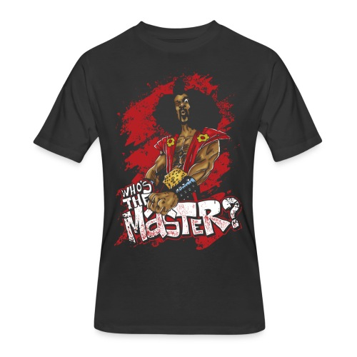 Who's The Master? - Men's 50/50 T-Shirt