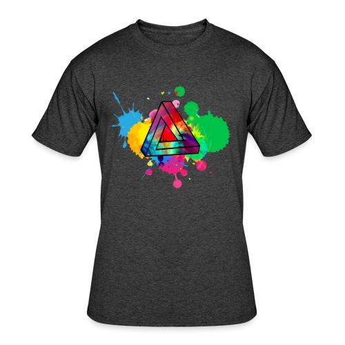 PAINT SPLASH - Men's 50/50 T-Shirt