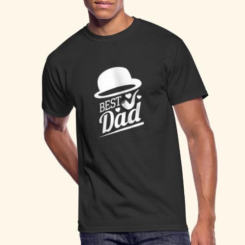 BEST DAD - Men's 50/50 T-Shirt