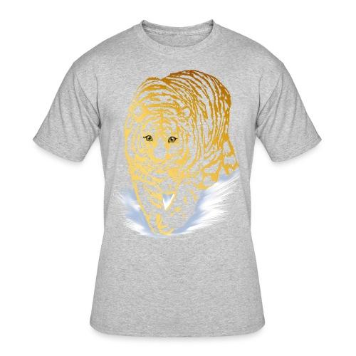 Golden Snow Tiger - Men's 50/50 T-Shirt