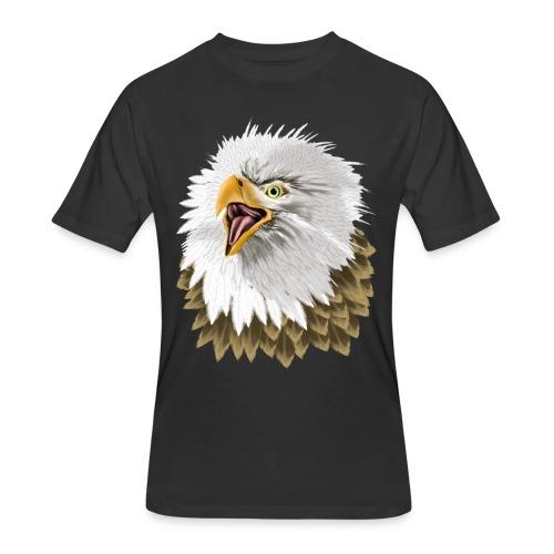 Big, Bold Eagle - Men's 50/50 T-Shirt