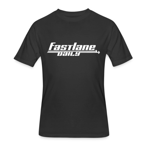 Fast Lane Daily logo - Men's 50/50 T-Shirt