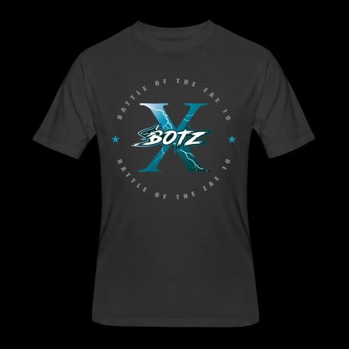 BOTZ X Circle Logo - Men's 50/50 T-Shirt