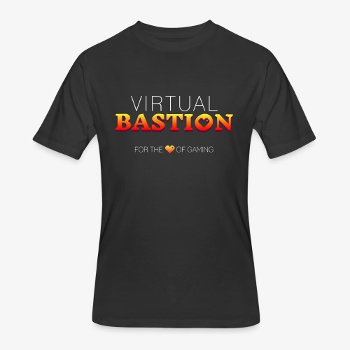 Virtual Bastion: For the Love of Gaming - Men's 50/50 T-Shirt