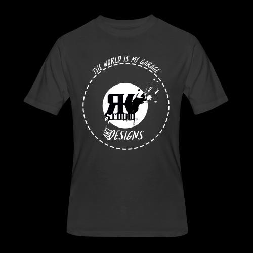 The World is My Garage - Men's 50/50 T-Shirt