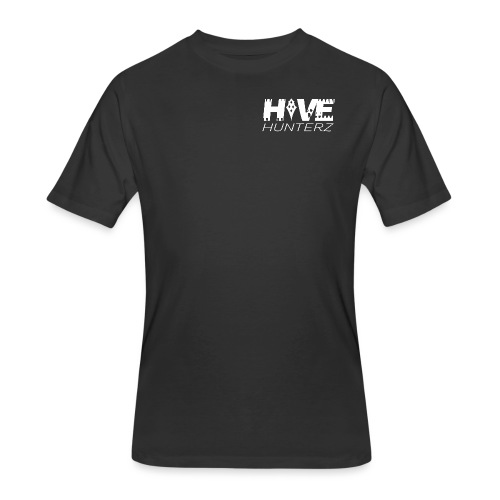 White Hive Hunterz Logo - Men's 50/50 T-Shirt