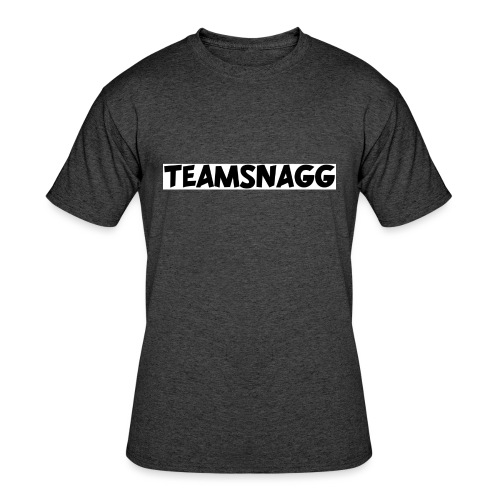 TeamSnagg Logo - Men's 50/50 T-Shirt