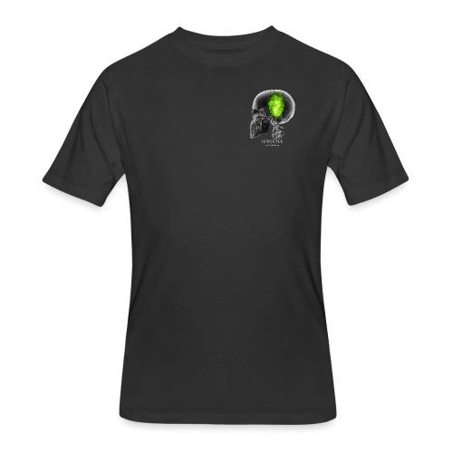 HOPSKULL T-Shirt (Double Sided) - Men's 50/50 T-Shirt