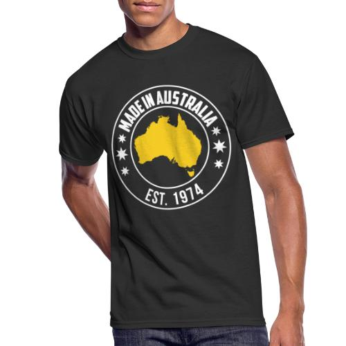 Made in AUSTRALIA Est 1974 - Men's 50/50 T-Shirt