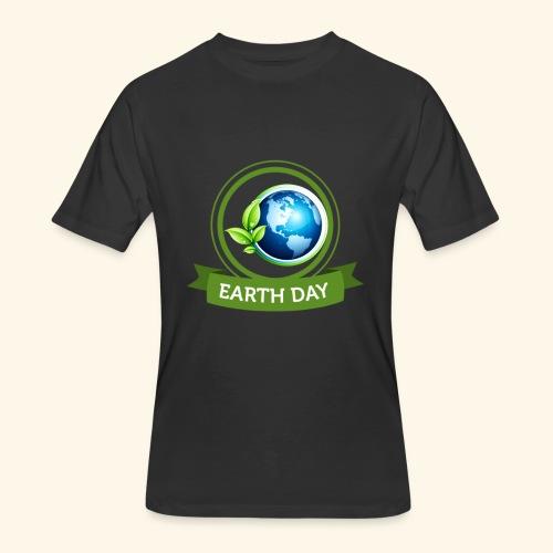 Happy Earth day - 3 - Men's 50/50 T-Shirt