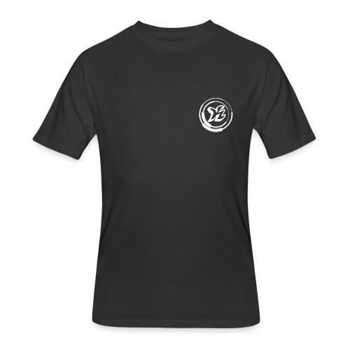 Kwozi Logo (Black ONLY) - Men's 50/50 T-Shirt