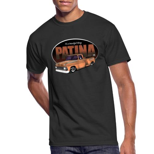 StepsidePatinaORANGE - Men's 50/50 T-Shirt