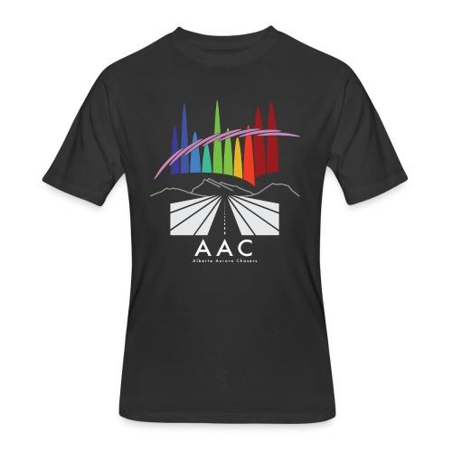 Alberta Aurora Chasers - Men's T-Shirt - Men's 50/50 T-Shirt