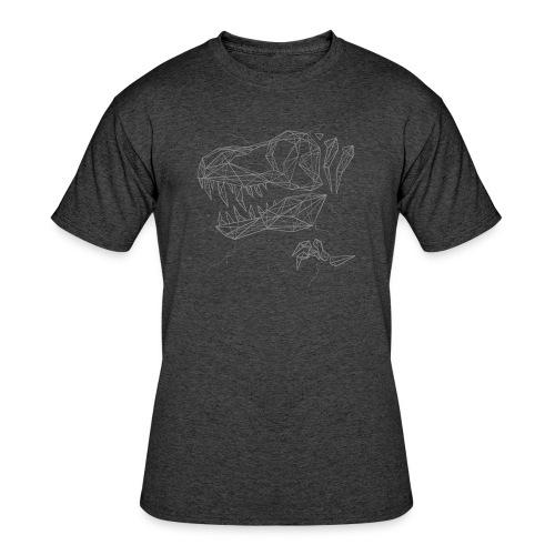 Jurassic Polygons by Beanie Draws - Men's 50/50 T-Shirt