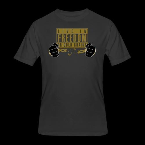 Live Free - Men's 50/50 T-Shirt
