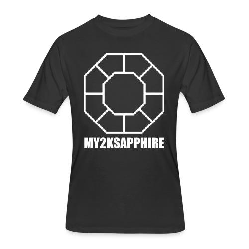 Unisex White Sapphire Hoodie - Men's 50/50 T-Shirt