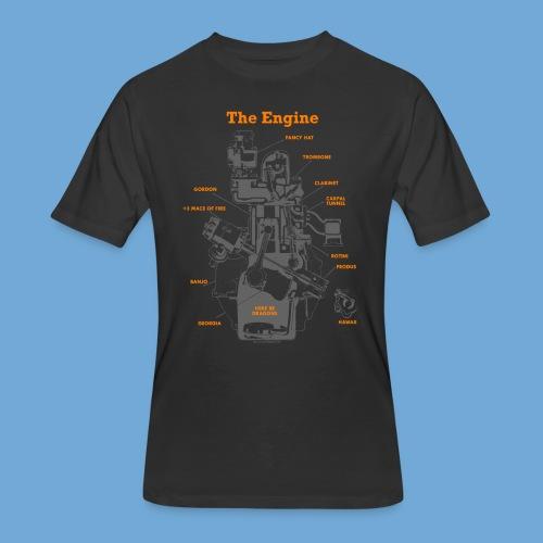 Engine Diagram - Men's 50/50 T-Shirt