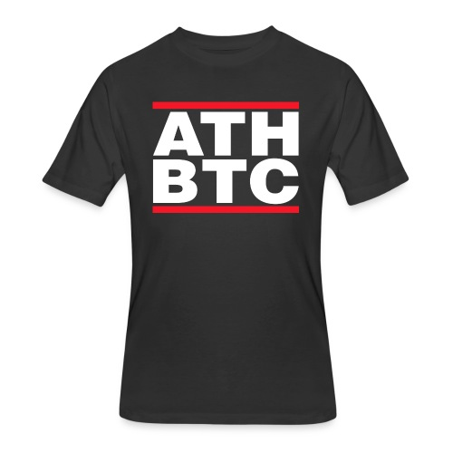 BTC Tshirt - ATH - Men's 50/50 T-Shirt