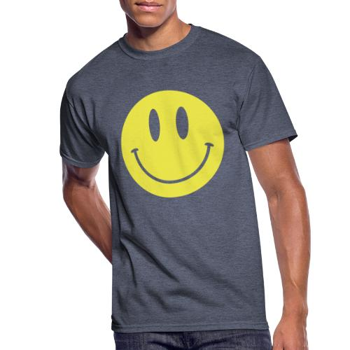 Smiley - Men's 50/50 T-Shirt