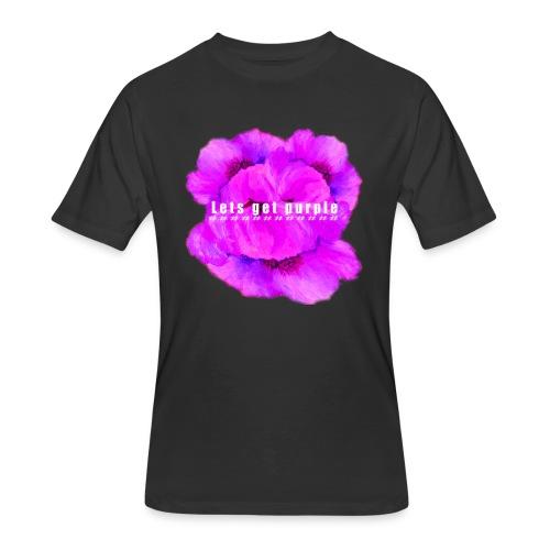 lets_get_purple_2 - Men's 50/50 T-Shirt