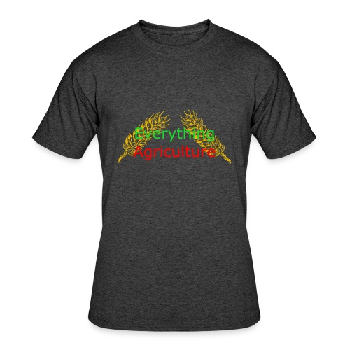 Everything Agriculture LOGO - Men's 50/50 T-Shirt
