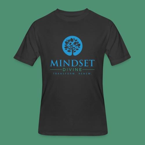 Mindset Divine logo 01 - Men's 50/50 T-Shirt