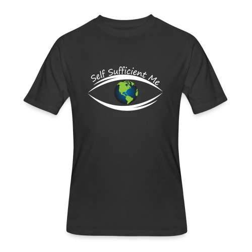Self Sufficient Me Logo Large - Men's 50/50 T-Shirt