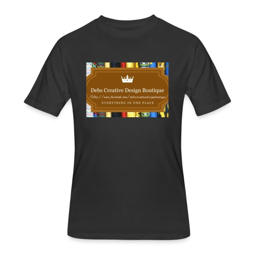Debs Creative Design Boutique with site - Men's 50/50 T-Shirt