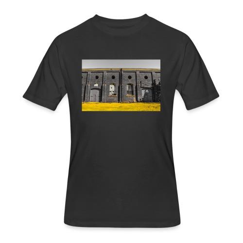 Bricks: who worked here - Men's 50/50 T-Shirt