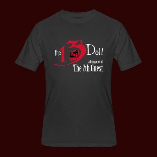 The 13th Doll Logo - Men's 50/50 T-Shirt